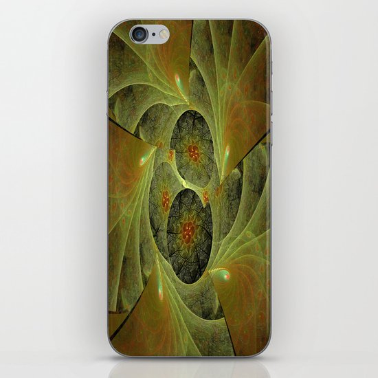 Beautimous With Green iPhone & iPod Skin