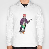 puffin Hoodies featuring Puffin Boy is not Muffin Man by Antoine