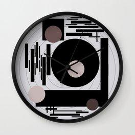 Optical Mink Wall Clock