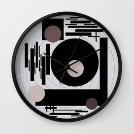 Optical Mink Wall Clock