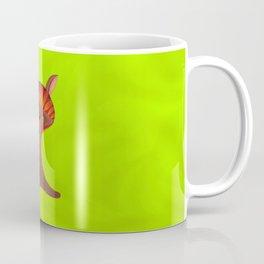 Friendly but Whimsical Mushroom Creature Coffee Mug
