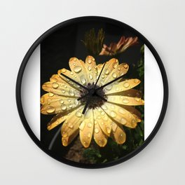 Momma's Flower Wall Clock