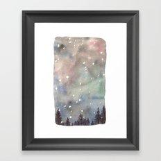 Nordic Lights Framed Art Print