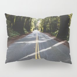 Redwoods Road Trip - Nature Photography Pillow Sham