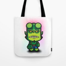 Green Hell Devil Tote Bag