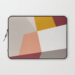 Abstract Geometric 27 Red Laptop Sleeve