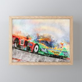 787B Framed Mini Art Print