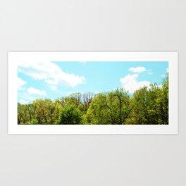 Natural Skyline Art Print