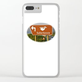 Suikerbossie Clear iPhone Case