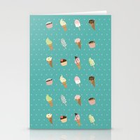 dessert Stationery Cards featuring Dessert by Olya Yang