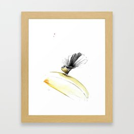 FANTAIL/ THE POSER Framed Art Print