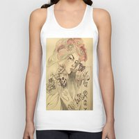 mucha Tank Tops featuring mucha chicano by paolo de jesus