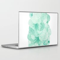 bruno mars Laptop & iPad Skins featuring Green Fields by Marcelo Romero
