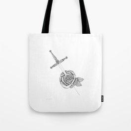 Rose Sword Tote Bag