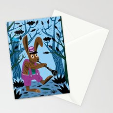 The Clarinet Bunny Stationery Cards