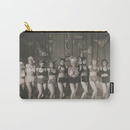 African American 1920's NYC Chorus Line Carry-All Pouch
