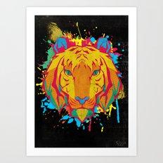 Cat Series: Tiger Art Print