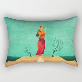 MISS SPRING Rectangular Pillow