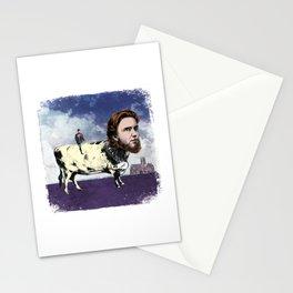 JASPER BOVINE (OUR MUTUAL FRIEND) ILLUSTRATION Stationery Cards