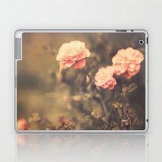 Romantic Vintage Roses (Vintage Flower Photography) Laptop & iPad Skin