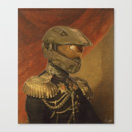 Halo Master Chief Spartan 117 Class Photo General Painting Fan Art Canvas Print
