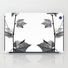 wine leaf abstract III iPad Case