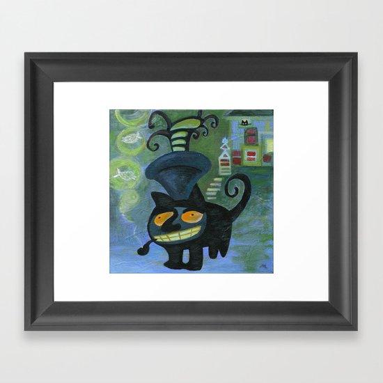 pipe dreamer Framed Art Print