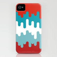 Drips and Drops - Smurf iPhone (4, 4s) Slim Case