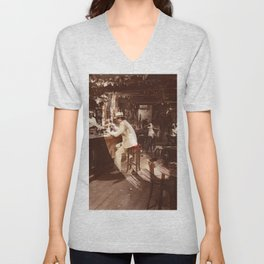 In Through the Out Door Led (Remastered) by Zeppelin Unisex V-Neck
