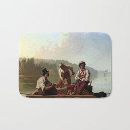 George Caleb Bingham Boatmen on the Missouri Bath Mat