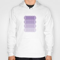 ombre Hoodies featuring Ombre by TypeArtist