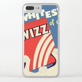 Vintage Washing commercial Clear iPhone Case