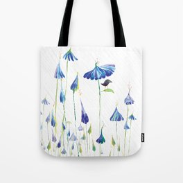 BLUE IS THE RAINIEST COLOR Tote Bag