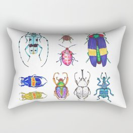 beetles Rectangular Pillow