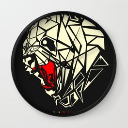 Shred Wall Clock