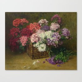 SIVERS, CLARA VON (Pinneberg 1854 - 1924 Berlin) Still life of flowers. Canvas Print