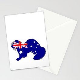 Australian Flag - Ferret Stationery Cards
