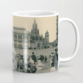 1900 Ostend Siesta on the Beach Coffee Mug