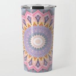 Mandala aquamarin Travel Mug