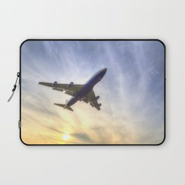 Boeing 747 Sunset  Laptop Sleeve