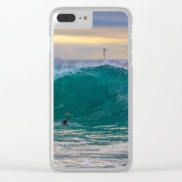 Big Morning at the Wedge Clear iPhone Case