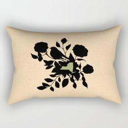 New York - State Papercut Print Rectangular Pillow