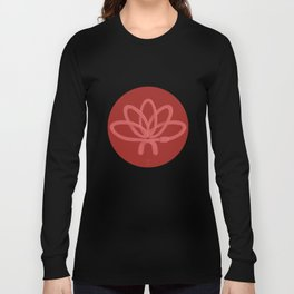 Animal Zen: W is for Worm Long Sleeve T-shirt