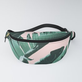 Banana Leaves Finesse #3 #tropical #decor #art #society6 Fanny Pack