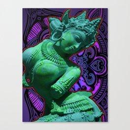 Indian Goddess Uttar Pradesh Apsara Canvas Print