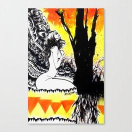 TREE'S DEMON Canvas Print