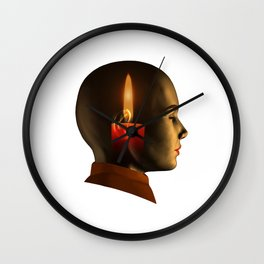 soul, human spirit, inner light Wall Clock