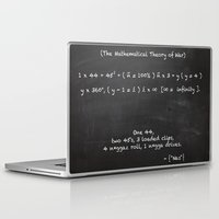 lebron Laptop & iPad Skins featuring The Mathematical Theory of war by SaintCastro