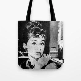 Miss Golightly - black Tote Bag