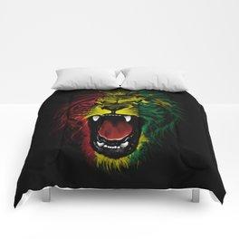 Rasta Roar Comforters